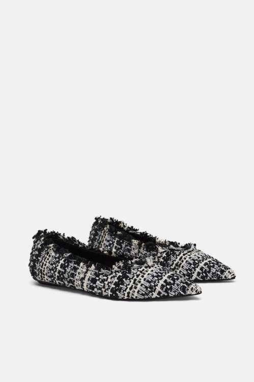 hijab shoes tweed
