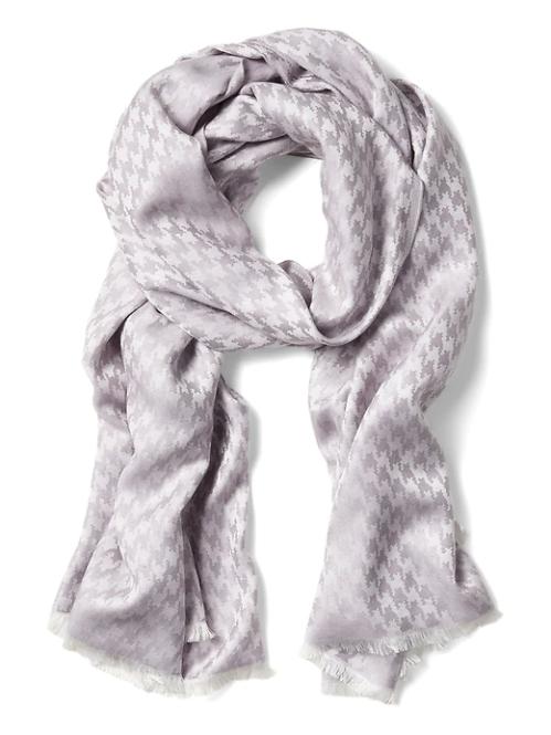 houndstooth hijab scarf shiny