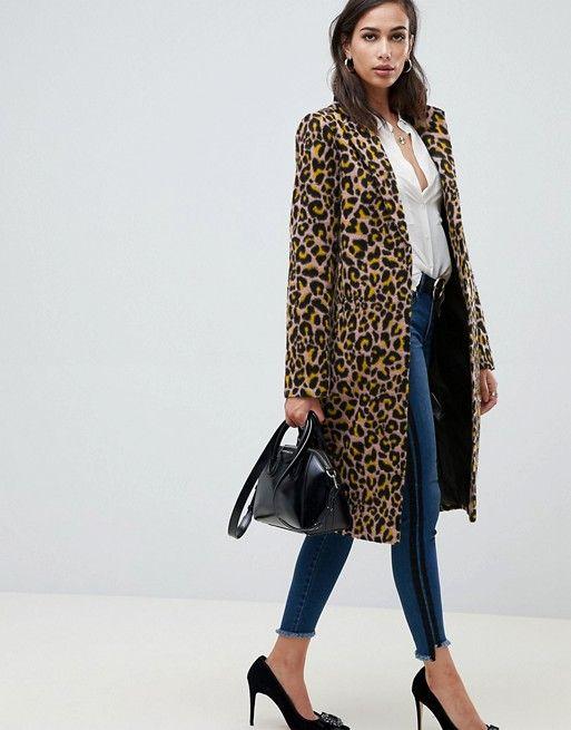 leopard coat hijab